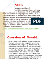 What is Ovral-L