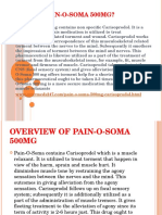 What is Pain-O-Soma 500mg