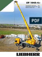 Liebherr Product Advantage Mobile Crane 203 Ltf 1045-4-1 Pn 203 00 s07 2014