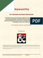 Wayward Fey