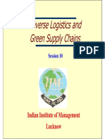 Reverse Logistics and Green Supply Chain