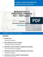 1)I Introduction to Structural Dynamics SDOF_short Version