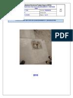 Pets-Confeccionar Una Poza de Almacenamiento y Reparar Piso