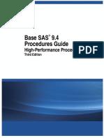 Base SAS 9.4 Procedures Guide= High-Performance Procedures, Third Edition