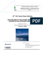 High Reliability Solutions & Innovative Concepts for Offshore Wind Turbines