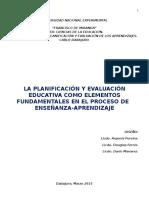 Guía Sobre Planificación y Evaluación.