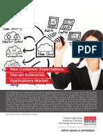 New Customer Expectations Disrupt Enterprise Applications Market - Sonata Software