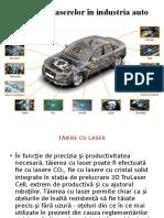 Aplicațiile Laserelor În Industria Auto (Marin)