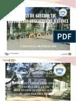 Presentacion Plan de Gestion de Tic Bayunca