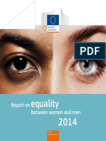 Report on equality between women and men 2014  European Comission.pdf