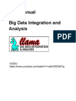 Llama - Big Data Integration and Analysis