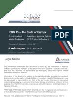 Europe Webinar Distribution