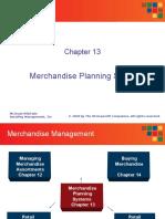 274722906 Merchandize Planning Retail Budgeting