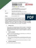 informe capacitación - Huánuco