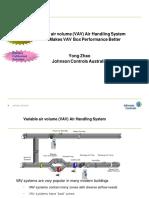 Variable Air Volume Air Handling System