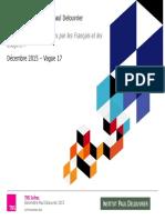 Baromètre Paul Delouvrier sur les Services Publics /TNS Sofres