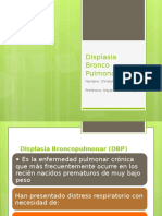 Displasia Bronco Pulmonar (DBP)