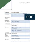 Protocolo de Evaluacion Neuropsicologica