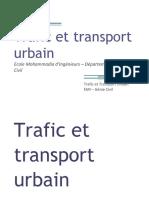 00 Trafic Et Transport Urbain - Présentation