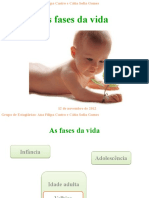As Fases Da Vida - Modificações Do Corpo - Estudo Do Meio