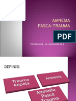 Amnesia Pasca Trauma
