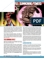 Mutants and Masterminds Power Profile 4_Summoning Powers