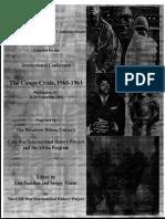 Congo 1960-61 Independence - UN - CIA