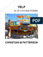 YELP an ebook of 4 found poems