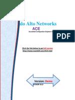 ACE Palo Alto Networks PDF Coaching Kits