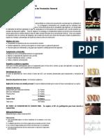 Lenguaje y Tecnicas de Redaccion Programa Del Curso 2016