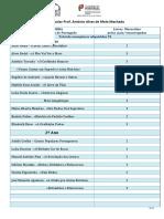 Metas Curriculares de Portugês - 1º CEB - Ofertas