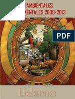 Informe Ambientales Departamental de Tarija, Gestión 2009 - 2013