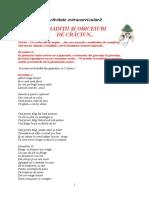 Activitate extradidactica de Craciun.doc