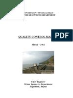 Quality Control Manual WRD