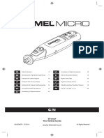 Dremel Micro 7.2v Hobby Tool Manual