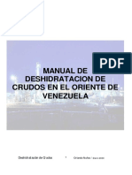Manual de Deshidratación