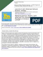 Replaying Carlitos - Chaplin, Latin American Film Comedy and the Paradigm of Imitation