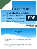 1. Introducción a La Didáctica