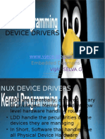 Device Drivers Basics Introduction