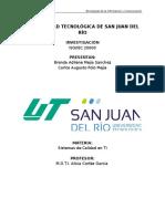 Investigación ISO 20000