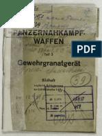Bildheft 149c (1944) Panzernahkampf-waffen Teil 3 Gewehrgranatgerät