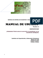 Manual de Usuario InTech