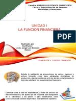 Clase Unidad I - La Función Financiera