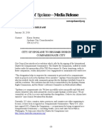 Compassionate Cities Press Release (Draft)