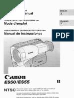 ES50 ES 55 Manual