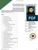 Martín Lutero - Wikipedia, La Enciclopedia Libre