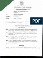 Calificación del Cal Ley Castigo Corporal