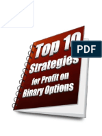 Top 10 Strategies For Profit On Binary Options