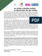Boletin de Prensa Día Nacional de la Niña en el Ecuador