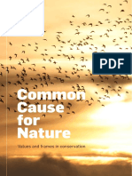 Common Cause for Nature